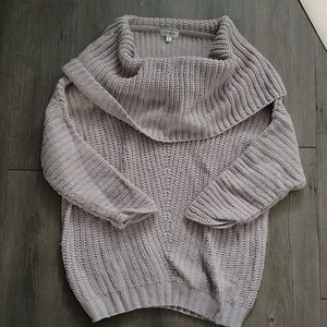 Umgee off the shoulder sweater!
